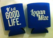 Image of Good Life - Koozie (Royal Blue)