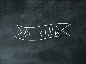 Image of be kind ribbon 