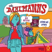 "Image of The Dahlmanns / Nikki Corvette - Split 7"" /200"