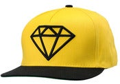 Image of NEW! Diamond Supply Co. Snapback Hat Collection (Yellow)