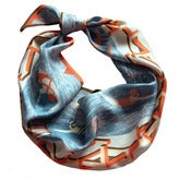 Image of Swimming Pool Silk Scarf