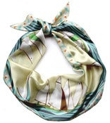 Image of Boat Race Silk Scarf