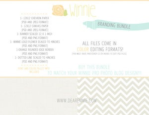 Image of winnie branding bundle