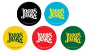 Image of Locos por Juana Logo Sticker (Different Colors)