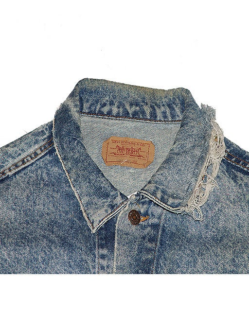Image of Vintage Acid Wash Levi Trucker Jacket