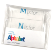 Image of 4&quot; I Spy Labels: Alphabet Set