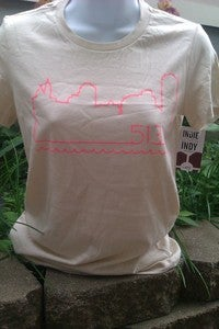 Image of 513 Skyline tee by Indie Loves <del>Indy</del> Cincy!