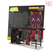 Image of Medicom KAWS Bus Stop Set 2004