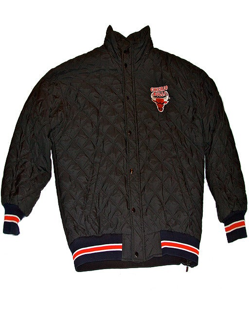 Image of Vintage Starter Quilted Chicago Bulls Jacket