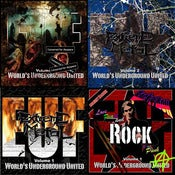 Image of Sampler Bundle - 4x &quot;European Underground XXX Front&quot; - CD
