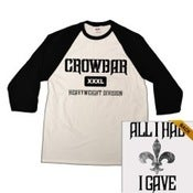 Image of Crowbar Baseball Tee