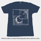 "Image of ""CTTS Corporate I.D."" Shirt - Navy Blue/Silver Ink"