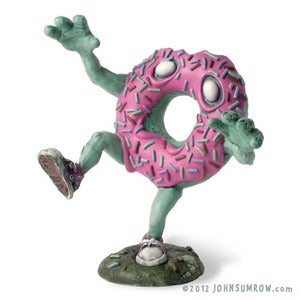 Image of Mr. Jimmies - The Undead Doughnut (Classic Pink)