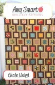 Image of Chain Linked Modern Quilt pattern PDF