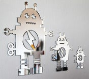 Image of Shatterproof Robot Family Mirrors