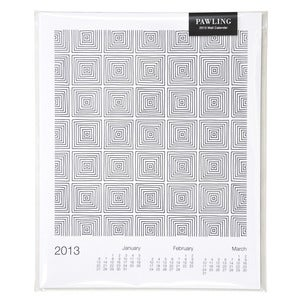 Image of 2013 Geometric Wall Calendar