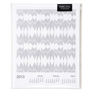 Image of 2013 Textiles Wall Calendar