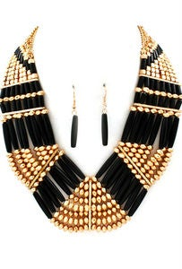 Image of Shiza Necklace Black