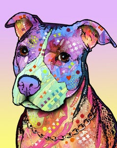 Image of Innocent Pitbull PRINT