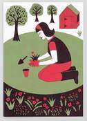 Image of Gardening Greetings Card