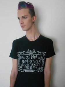 Image of Joe Black 'Ouija Board' Tshirts! - UNISEX - SMALL, MEDIUM AND LARGE AVAILABLE