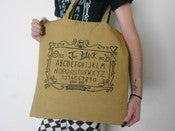 Image of Joe Black 'Ouija Board' Tote Bag!