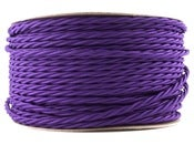 Image of PURPLE | fabric lighting flex cable | TWIST