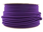 Image of PURPLE | fabric lighting flex cable | ROUND