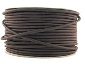 Image of DARK BROWN | fabric lighting flex cable | ROUND
