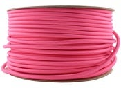 Image of FUSCHIA PINK |fabric lighting flex cable | ROUND 