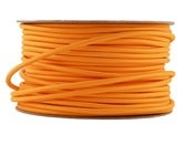Image of ORANGE | fabric lighting flex cable | ROUND