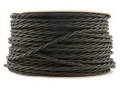 Image of JET BLACK | fabric lighting flex cable | TWIST