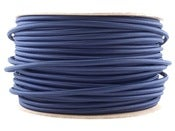 Image of NAVY BLUE | fabric lighting flex cable | ROUND