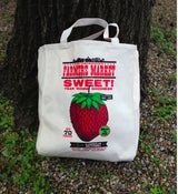 "Image of Farmer's Market ""Sweet!"" Market Tote Bag"
