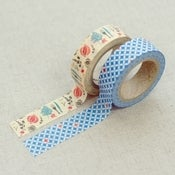 "Image of Set de 2 washi tape ""vintage"""