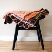 Image of Vintage Kantha Throw - Peach