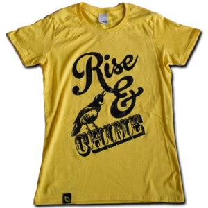 Image of Womens 'Rise & Chime' T-shirt