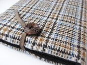 Image of Tweed 4 Ipad case 100% Wool Harris Tweed,