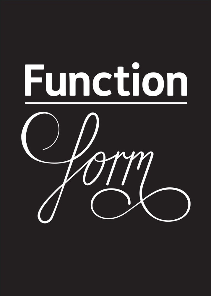 Image of Function over form