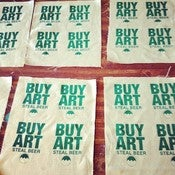 Image of Buy Art Steal Beer Patches