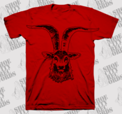 Image of Abomination - Goat T-Shirt
