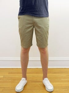 Image of Khaki Twill Angus Young Shorts