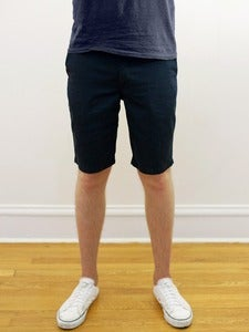 Image of Organic Navy Twill Angus Young Shorts