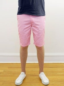 Image of Organic Pink Twill Angus Young Shorts