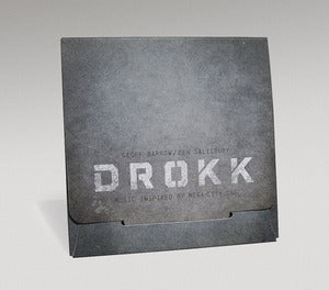 Image of Geoff Barrow & Ben Salisbury: DROKK music inspired by Mega-City One 'Bunker Edition CD w/Dload Card'