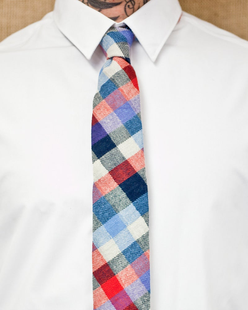 Image of Blue Red Plaid