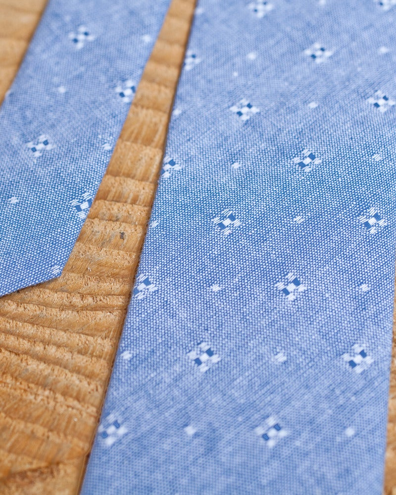 Image of Blue Dobby Chambray