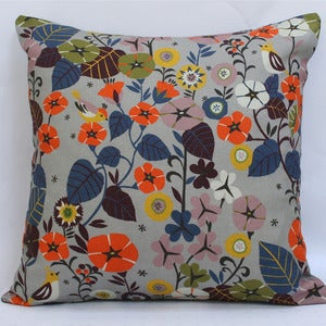 Image of NEW! Large Scatter Cushion in Nasturtium