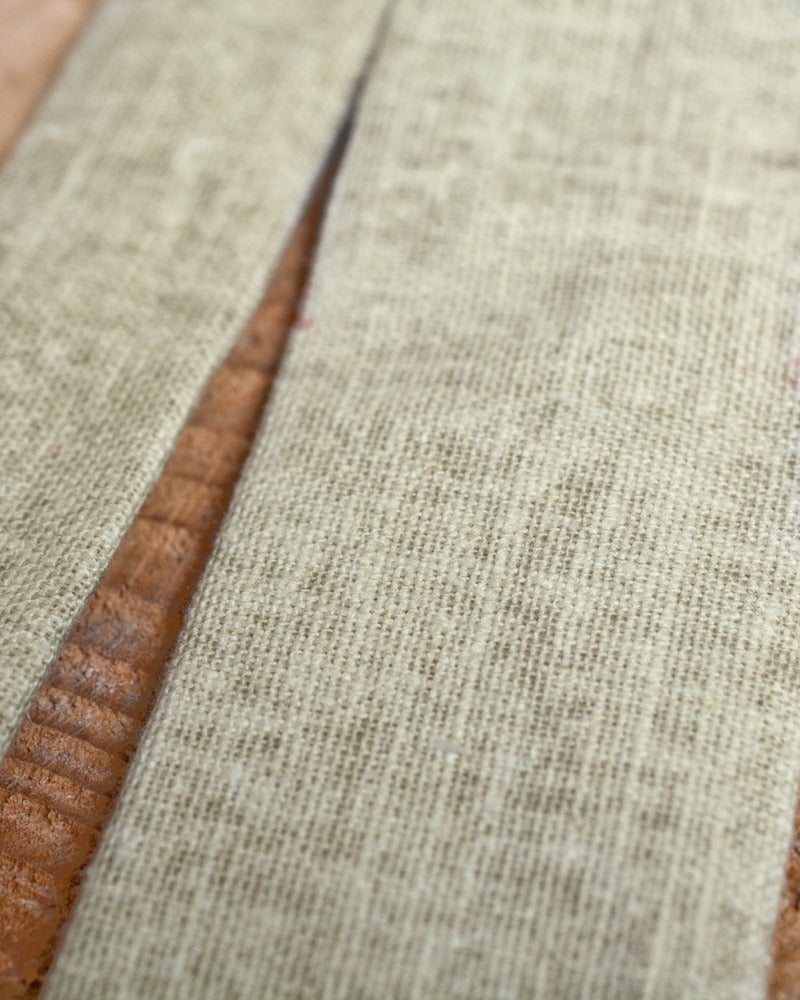 Image of Beige Heavy Linen