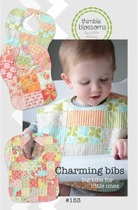 Image of Charming bibs- Pattern 153 Paper pattern
